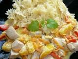 Krůtí maso s mrkvovo-pomerančovou omáčkou recept