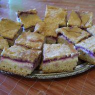 Piškotové tvarohové řezy recept