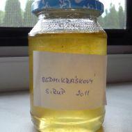 Sedmikráskový sirup s citronem recept