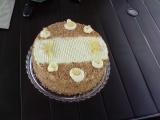 Ananasovo krokantový krémový dort recept