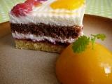 Svěží dvoubarevné dortíky recept