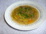 Hovězí polévka s pórkem a masem recept