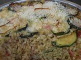 Cuketové risotto zapečené pod grilem recept