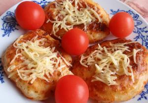 Bramborovo-sýrové lívance