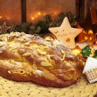 Barevná vánočka v deseti krocích recept