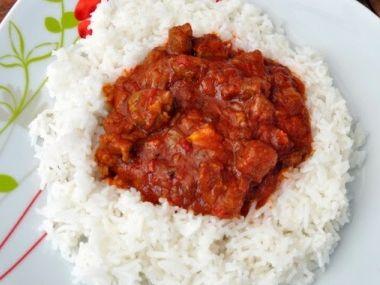 Jamajské kozľacie curry