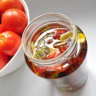 Sušená rajčata nakládaná v oleji recept