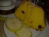 Jablíčkovo-brusinkovo-kokosová bábovka recept