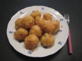 Jablkové knedlíky s mandlemi recept