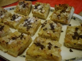Rybízový koláč s mandlemi recept