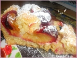 Švestkový koláč s mandlemi recept
