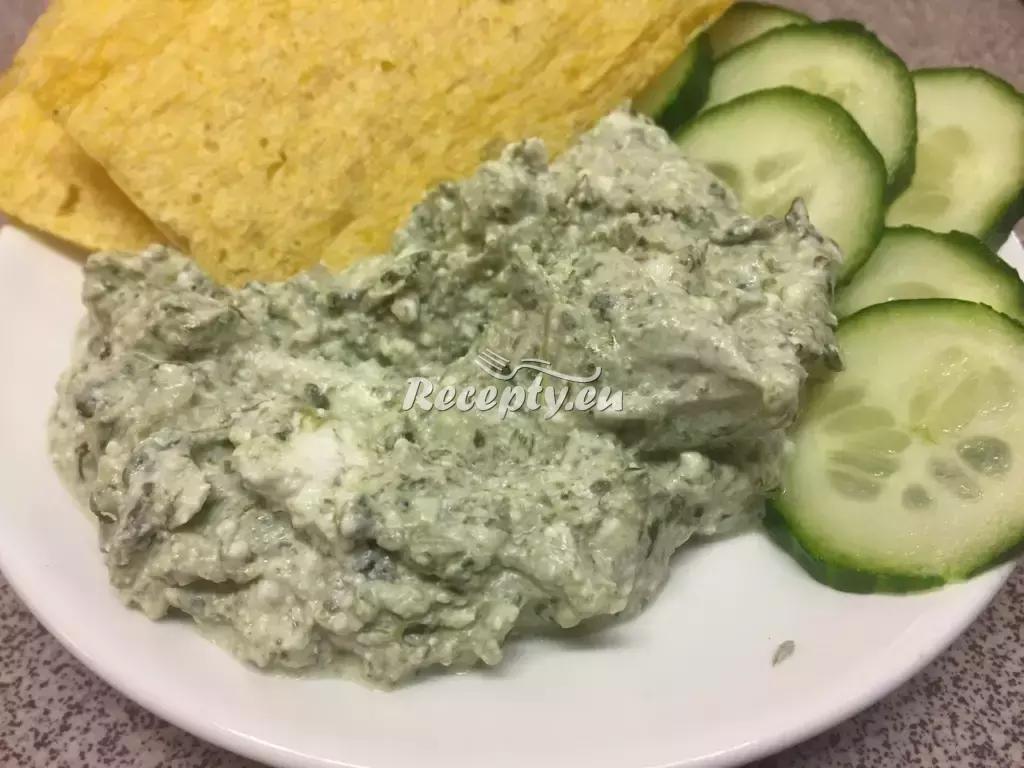 Celerová pomazánka s nivou recept  pomazánky