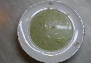 Brokolicová polévka bez smetany