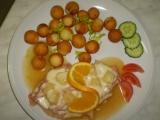 Kuřecí plátek s ananasem recept