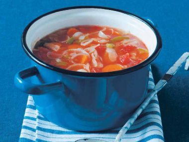 Recept Tukožroutská polévka