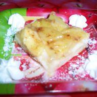 Jablečný koláč s želé recept
