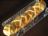 Závin z listového těsta s česnekem recept