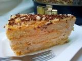 Dulce de leche dortík s javorovým sirupem recept