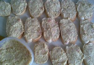 Výborná chlebíčková pomazánka