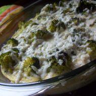 Brokolice zapečená s vejci a nivou recept