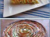 Slaný koláč z cuket a mrkve recept