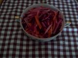 Salát z černé ředkve  zimní recept