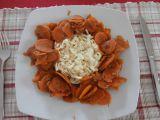 Mrkvový perkelt se šmakoun nudlemi recept