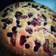Hrnkový ovocný koláč recept