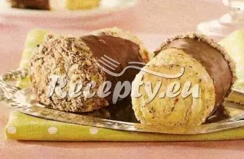 Mandlové pusinky s čokoládou recept  nejen vánoční cukroví ...