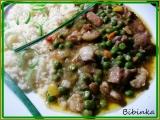 Vepřové kousky na hrášku s kuskusem-rychlý oběd recept ...