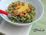 Lososovo-špenátové rizoto recept