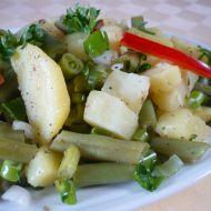 Bramborovo-fazolkový salát recept