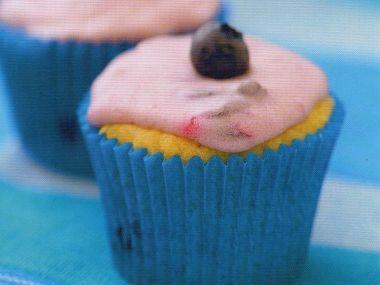 Cupcake Borůvková pusa