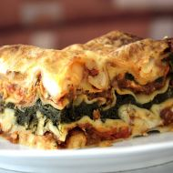Vege lasagne recept