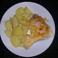 Kuře na česneku se sýrem recept