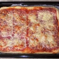 Šunkovo-sýrová pizza recept
