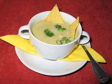 Sýrová polévka po staročesku