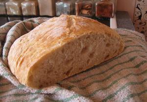 Chléb pro začátečníky (s česnekem)