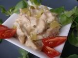 Salát z grilovaného nebo pečeného kuřete recept