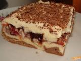 Švestkové kostky s vanilkovým krémem recept