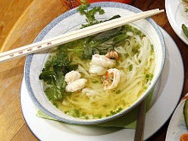 Pálivá krevetová polévka