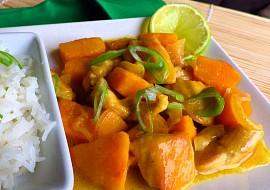 Dýňovo- kuřecí kari recept