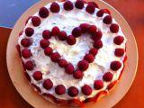 Valentýnský dort recept