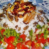 Mždara ze Sýrie  rýže s čočkou recept