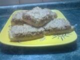 Rychlé ořechové řezy recept