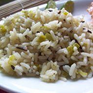 Divoká rýže recept