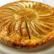 Jablkový krémový koláč recept