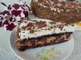 Opilý dort s brusinkami recept
