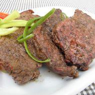 Roštěnky na grilu recept
