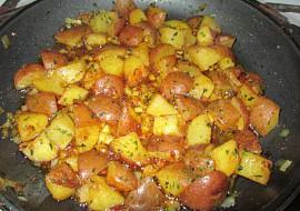 Americké brambory s petrželkou recept